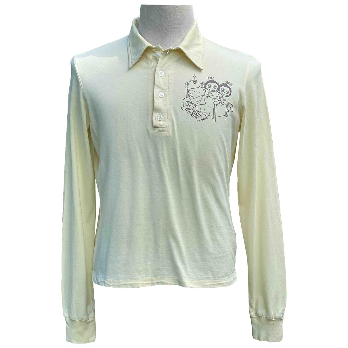 Dsquared2 - Tee shirts   pour homme en coton - jaune