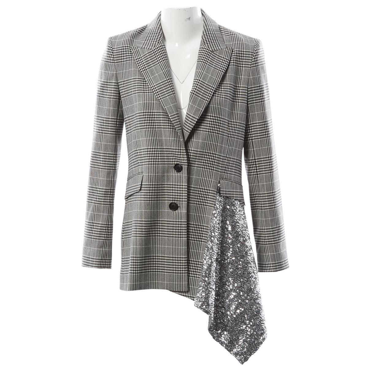 Roland Mouret \N Black Wool jacket for Women 10 UK