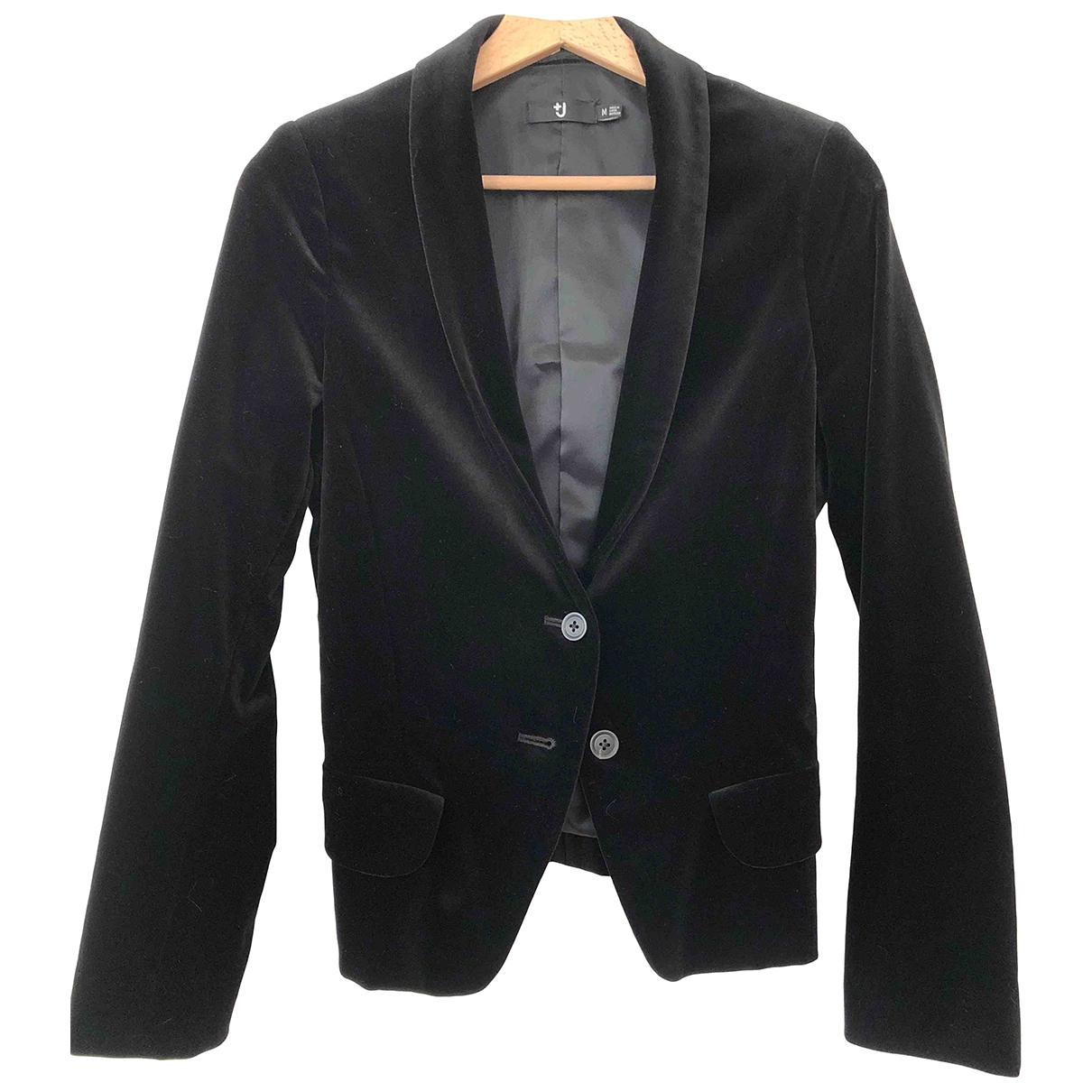 Uniqlo \N Black Velvet jacket for Women M International