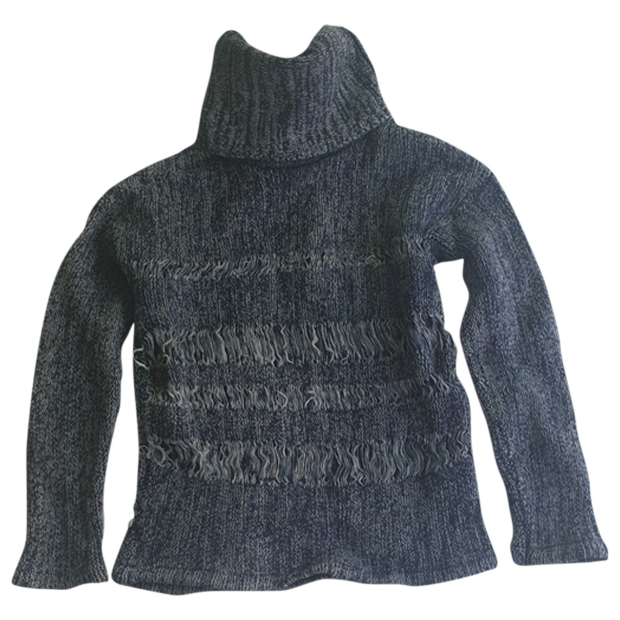 Adriano Goldschmied - Pull   pour femme en coton - bleu