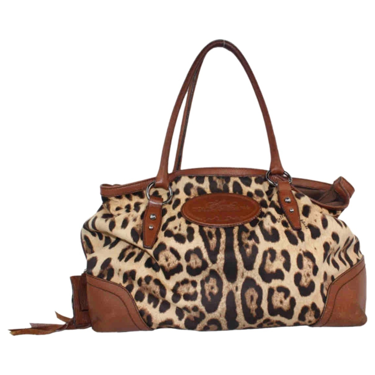 Dolce & Gabbana \N Handtasche in  Braun Leinen