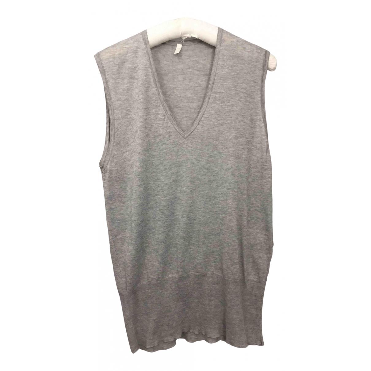 Balenciaga - Pull   pour femme en coton - gris
