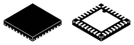 Texas Instruments CC1120RHBT, RF Transceiver IC 164MHz to 192MHz Quad Band 32-Pin VQFN