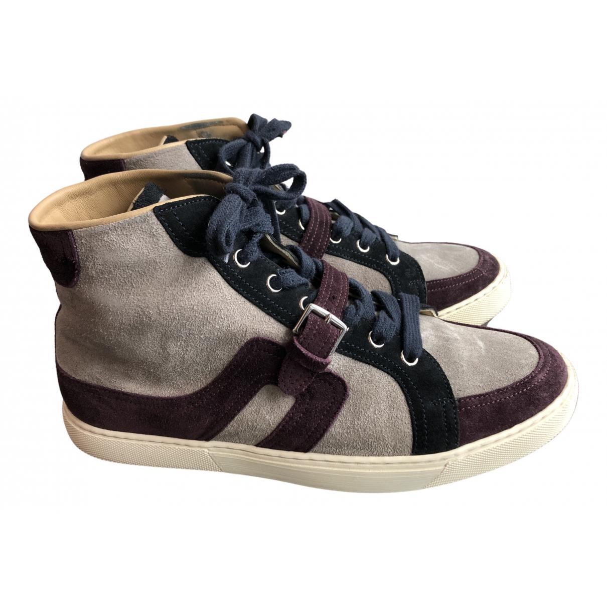 Hermes \N Sneakers in  Bunt Veloursleder