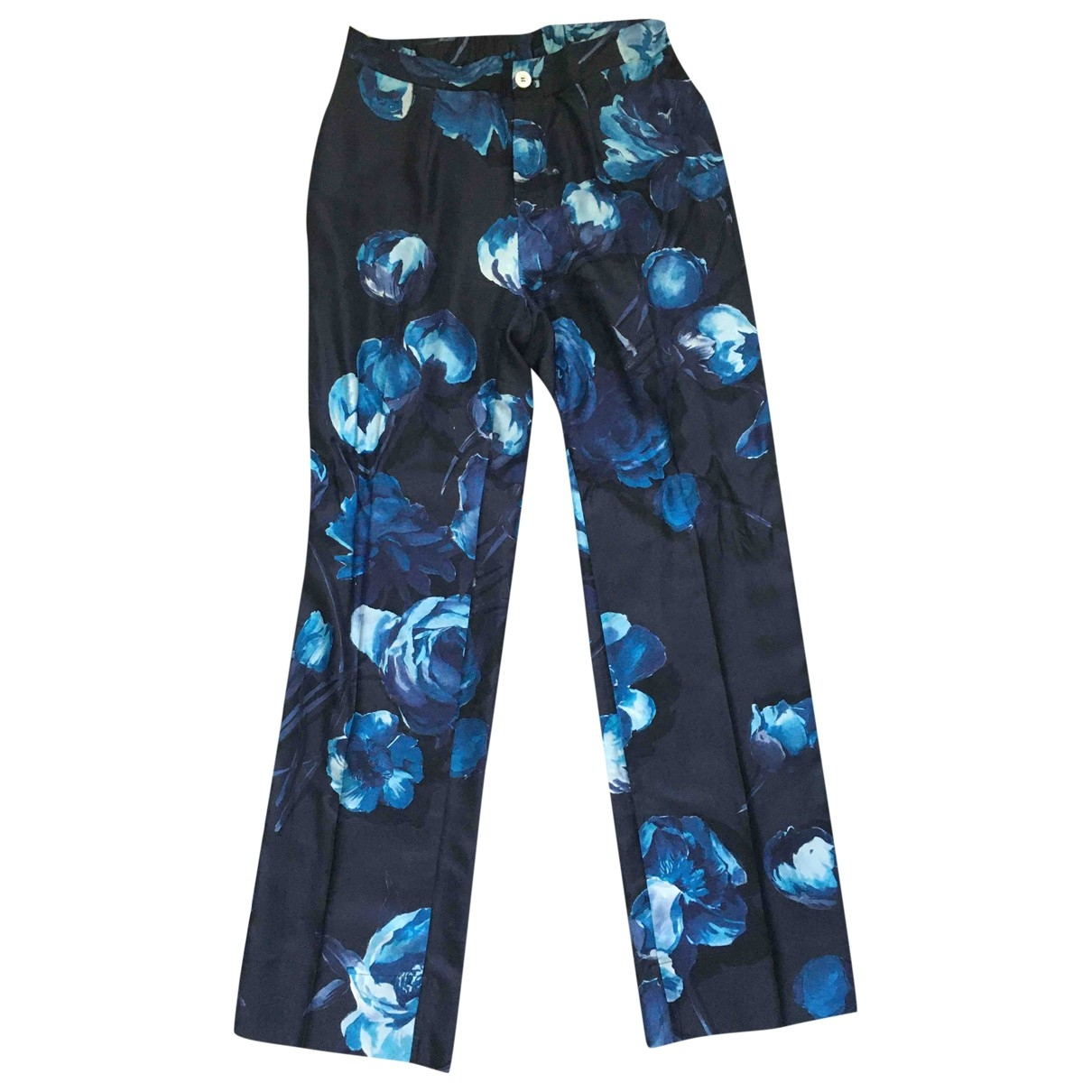 Pantalon recto de Seda F.r.s For Restless Sleepers