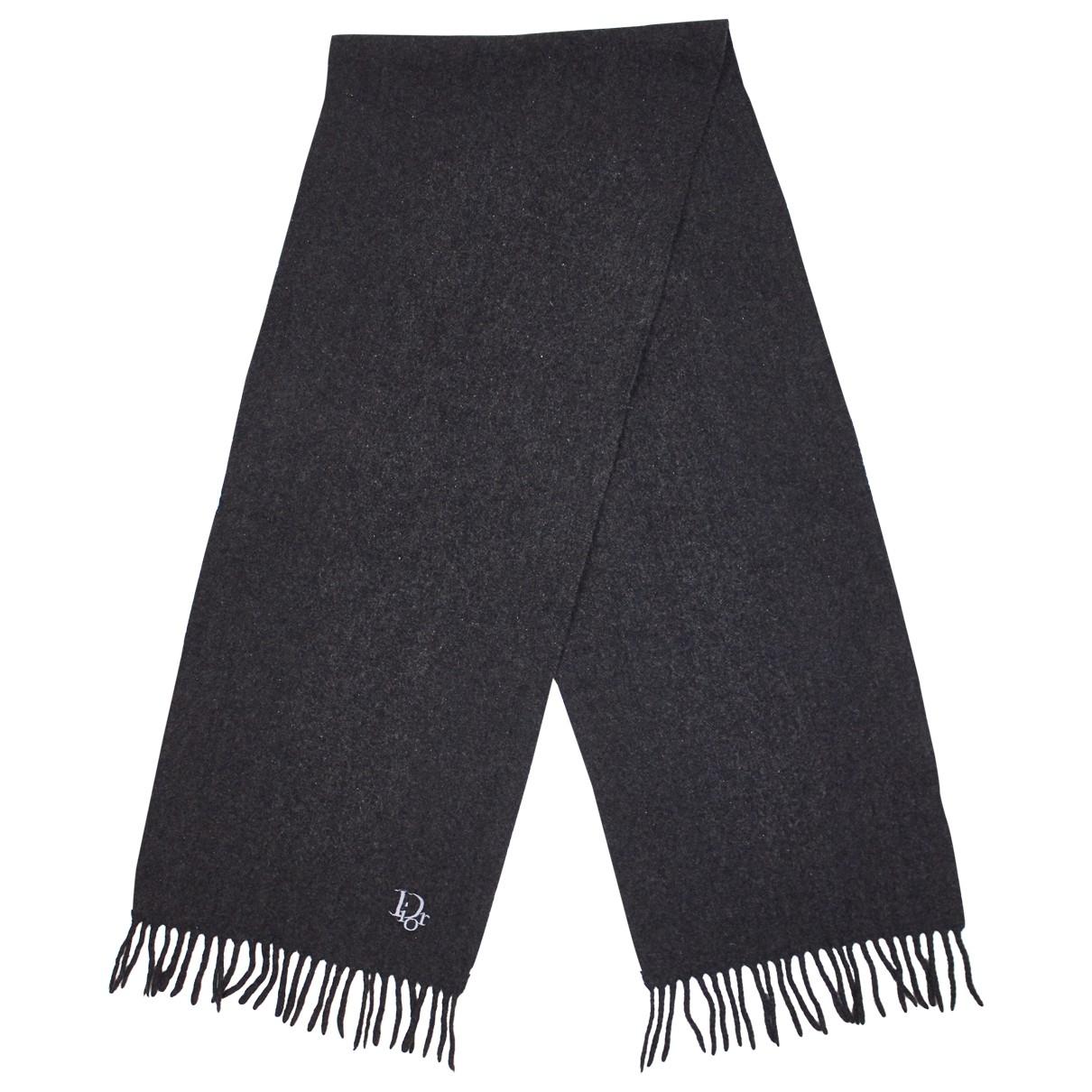 Dior Homme \N Tuecher, Schal in  Grau Wolle