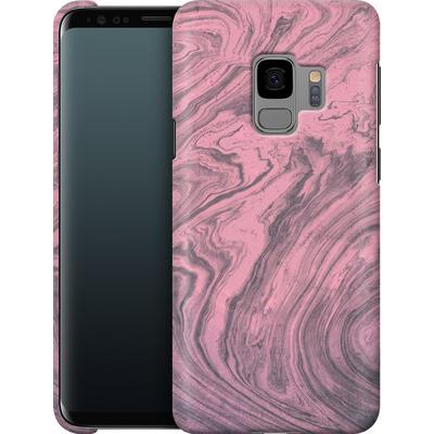 Samsung Galaxy S9 Smartphone Huelle - Pink Marble von Emanuela Carratoni