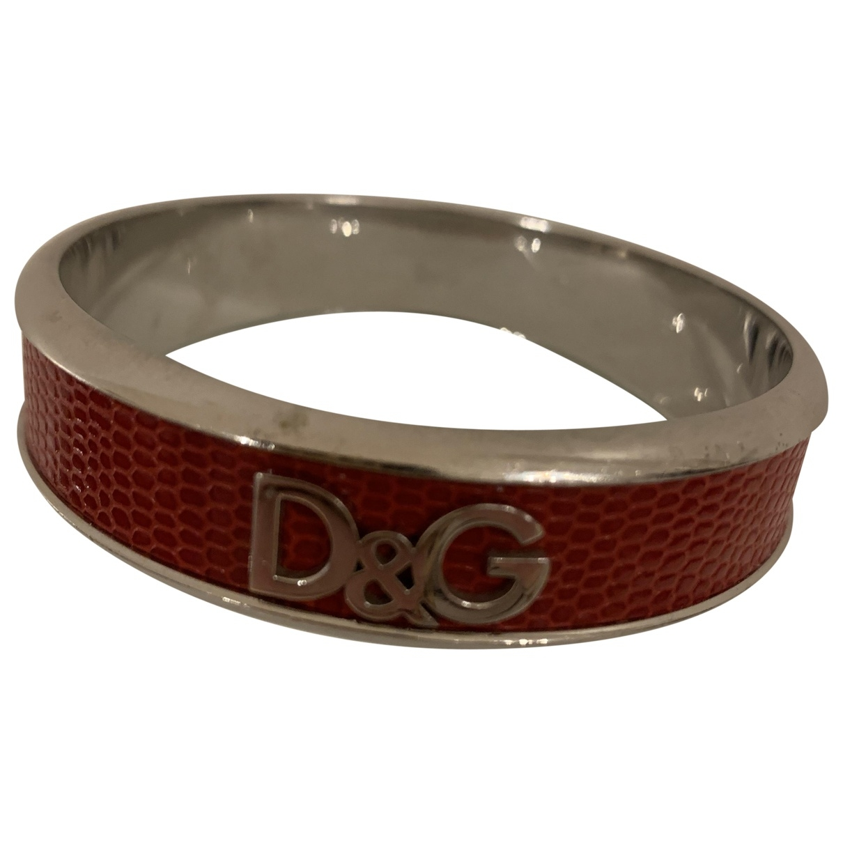 Dolce & Gabbana - Bracelet   pour femme en metal - rouge