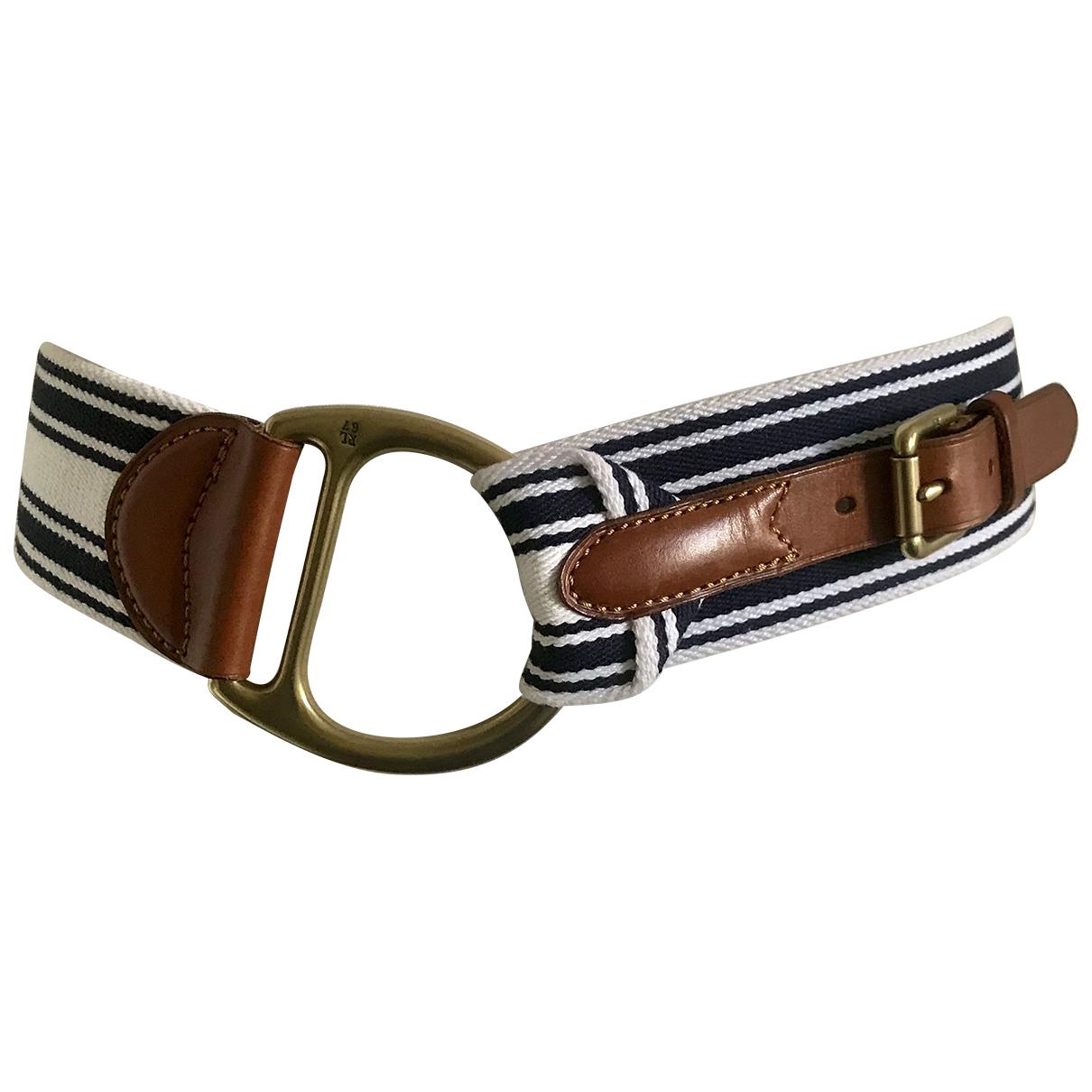 Ralph Lauren N Blue Cotton belt for Women L International