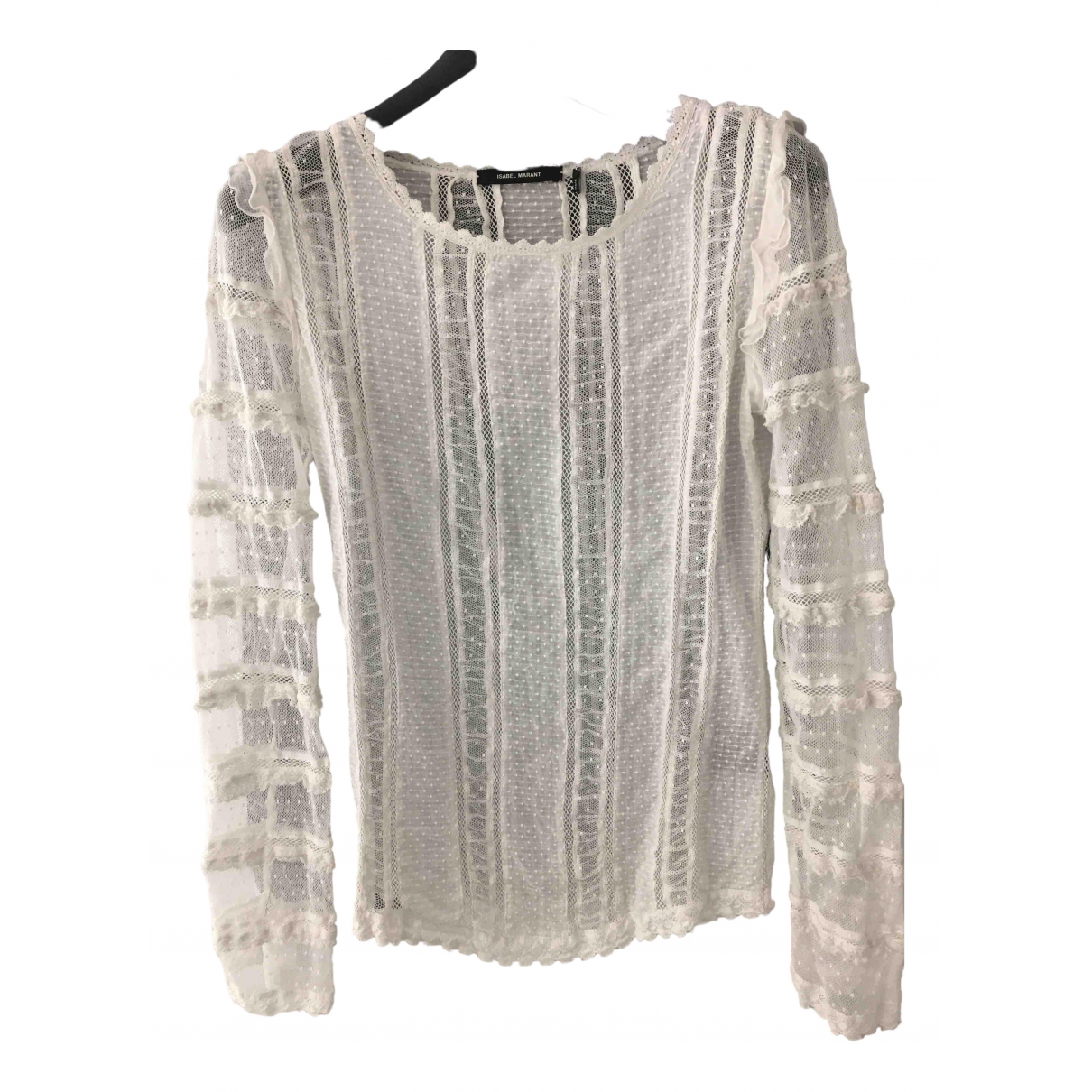 Isabel Marant \N White Cotton  top for Women 36 FR