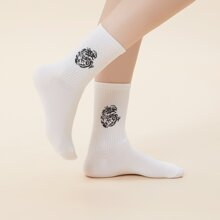Dragon Pattern Socks