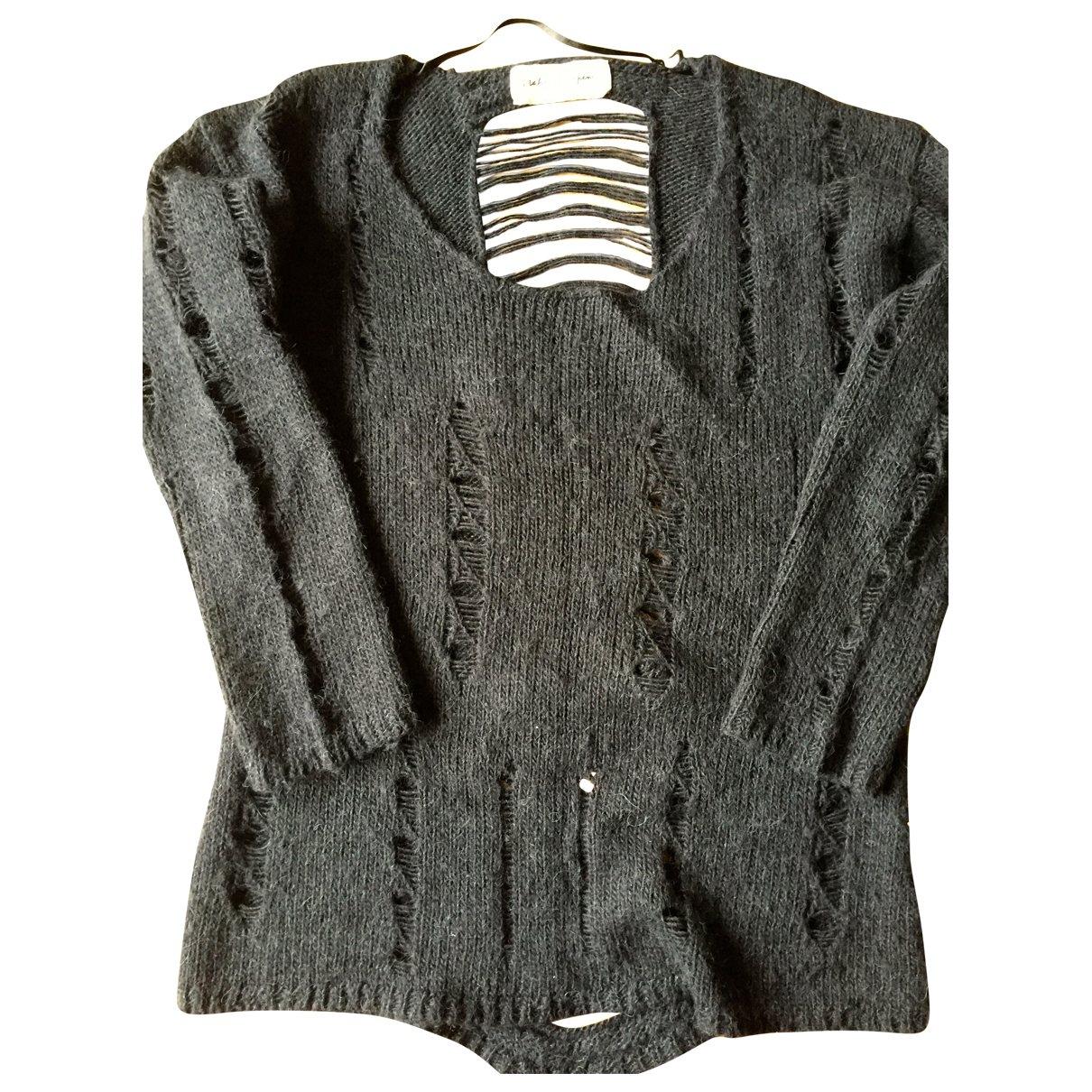Graham & Spencer - Pull   pour femme en laine - anthracite
