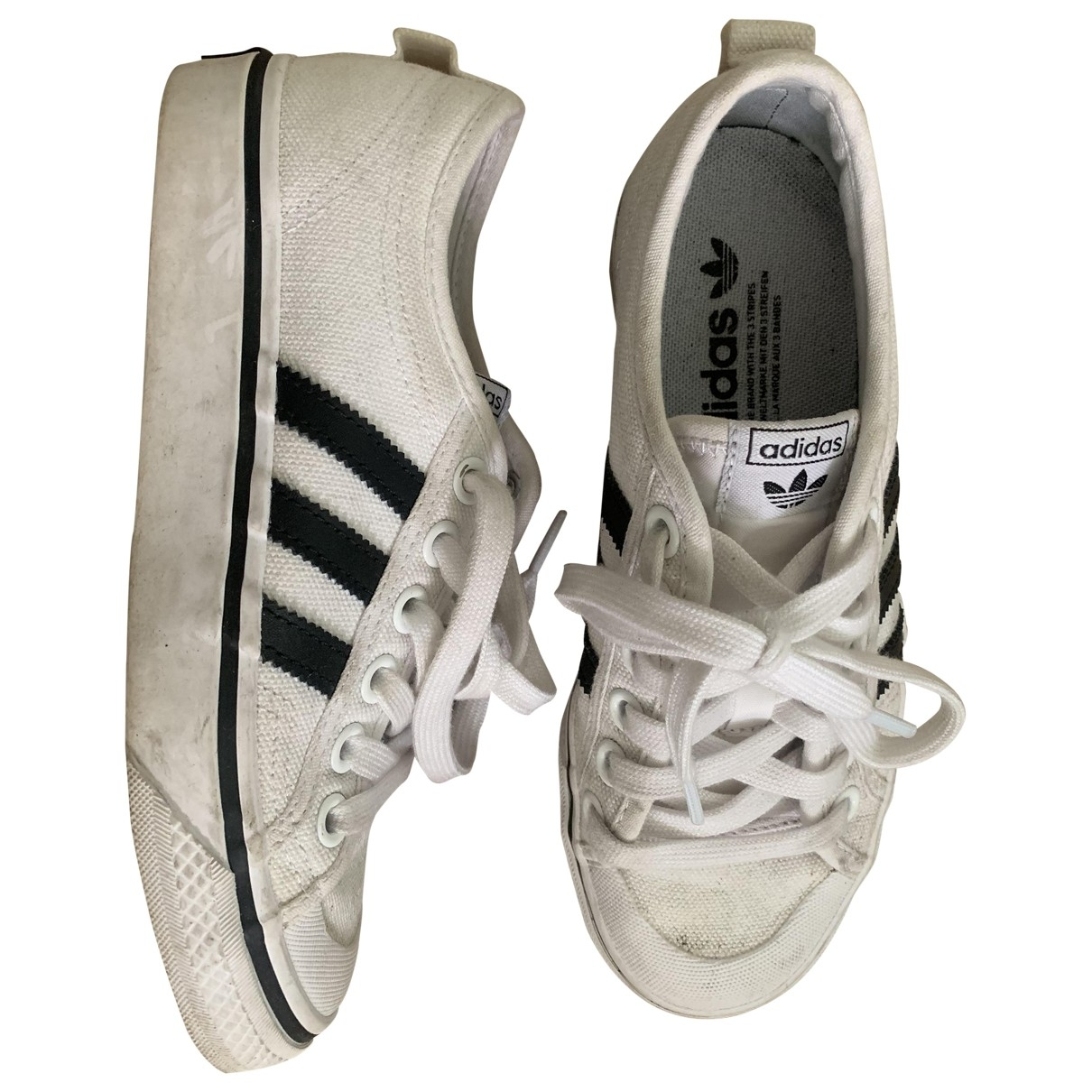 Adidas \N White Cloth Trainers for Women 3.5 UK
