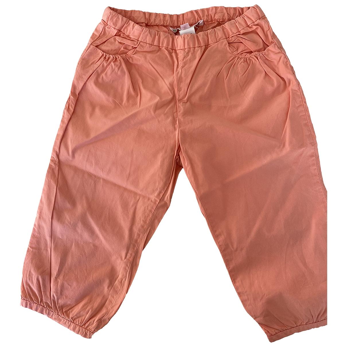 Bonpoint - Pantalon   pour enfant en coton - orange