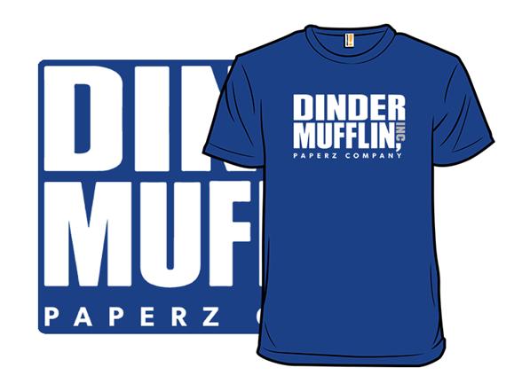 Dinder Mufflin Paperz Co T Shirt