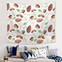 Hazelnut Print Tapestry