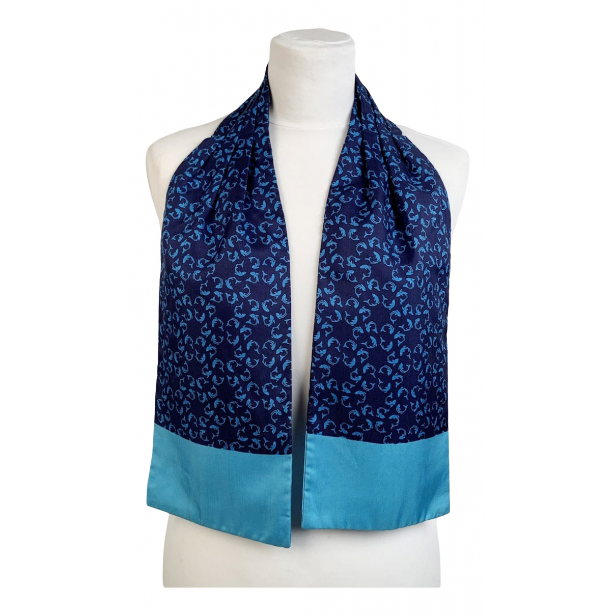 Hermès N Turquoise Silk scarf for Women N