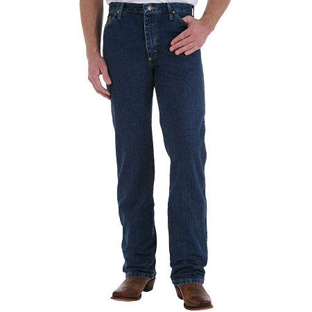 Wrangler George Strait Original-Fit Cowboy-Cut Jeans, 31 34, Blue