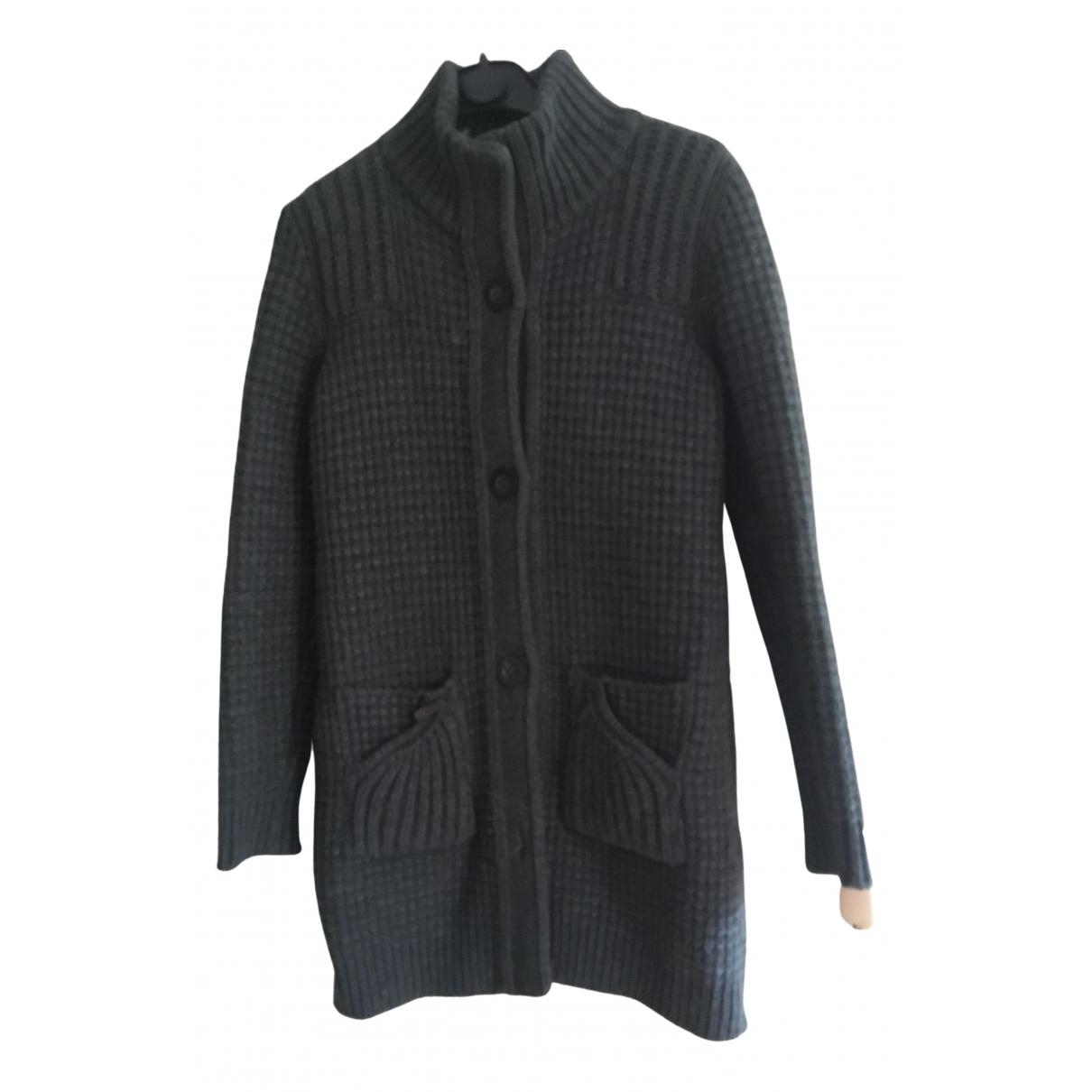 Bark - Manteau   pour femme en laine - anthracite
