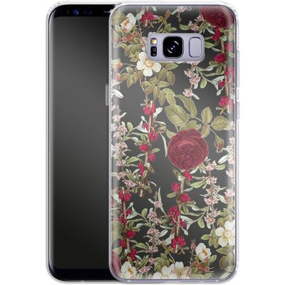 Samsung Galaxy S8 Plus Silikon Handyhuelle - Floral Explorer von Zala Farah