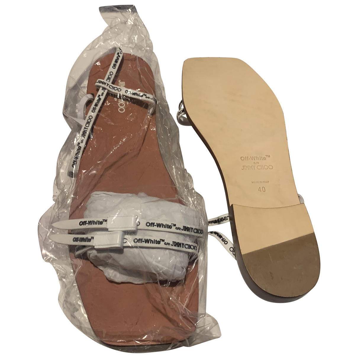 Sandalias romanas Jimmy Choo X Off-white