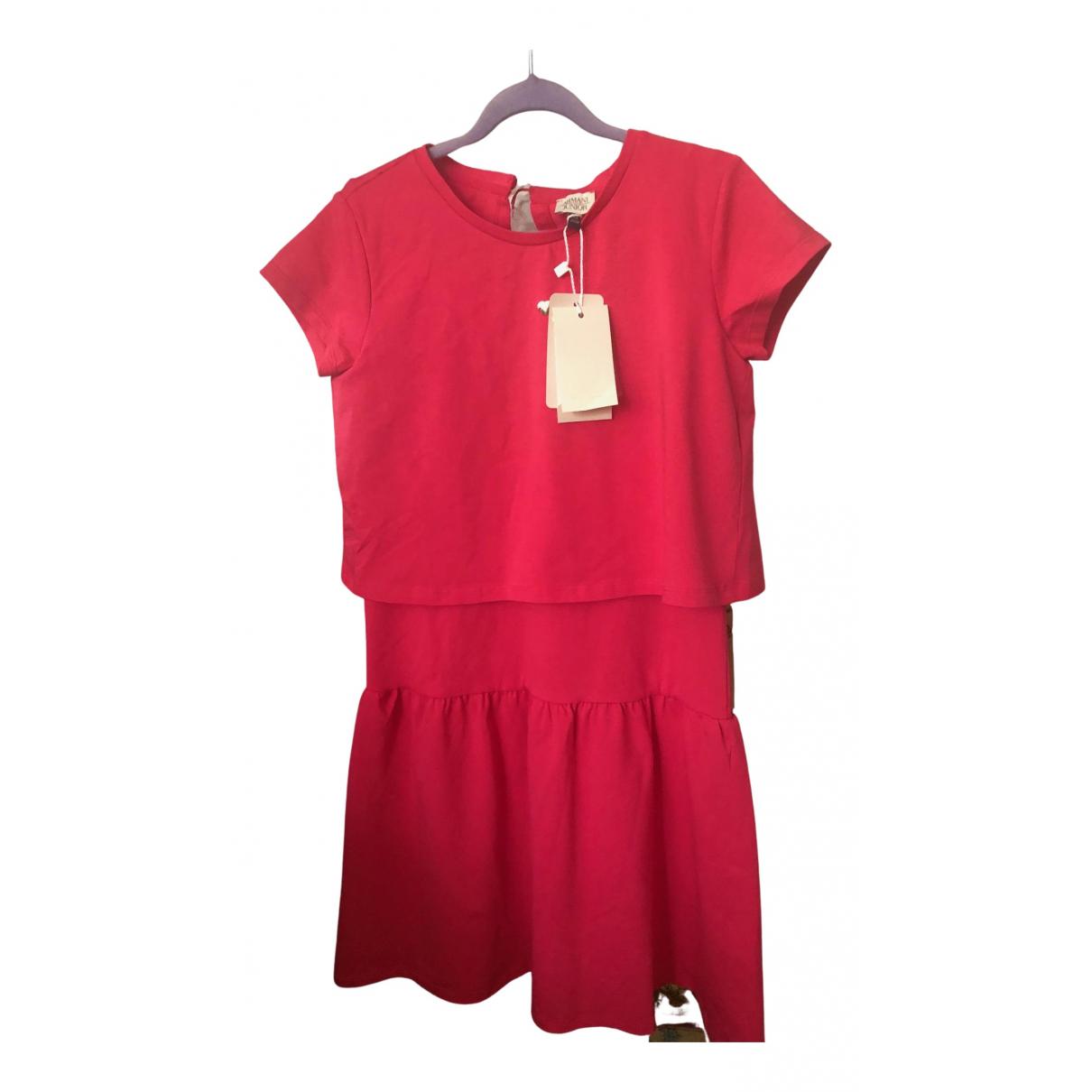 Armani Baby \N Kleid in  Rosa Baumwolle