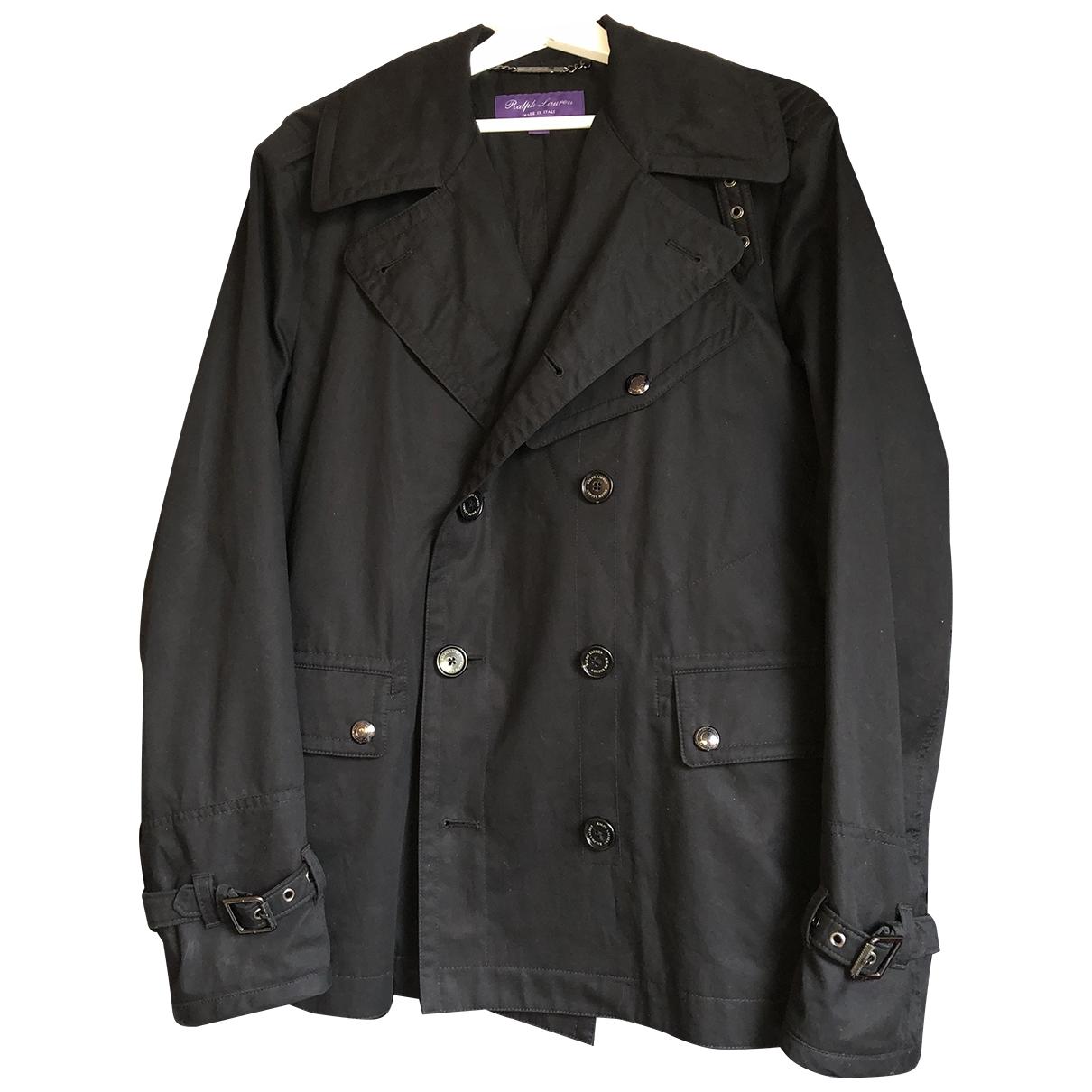 Ralph Lauren Purple Label - Vestes.Blousons   pour homme en coton - noir