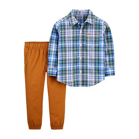 Carter's Toddler Boys 2-pc. Pant Set, 5t , Blue