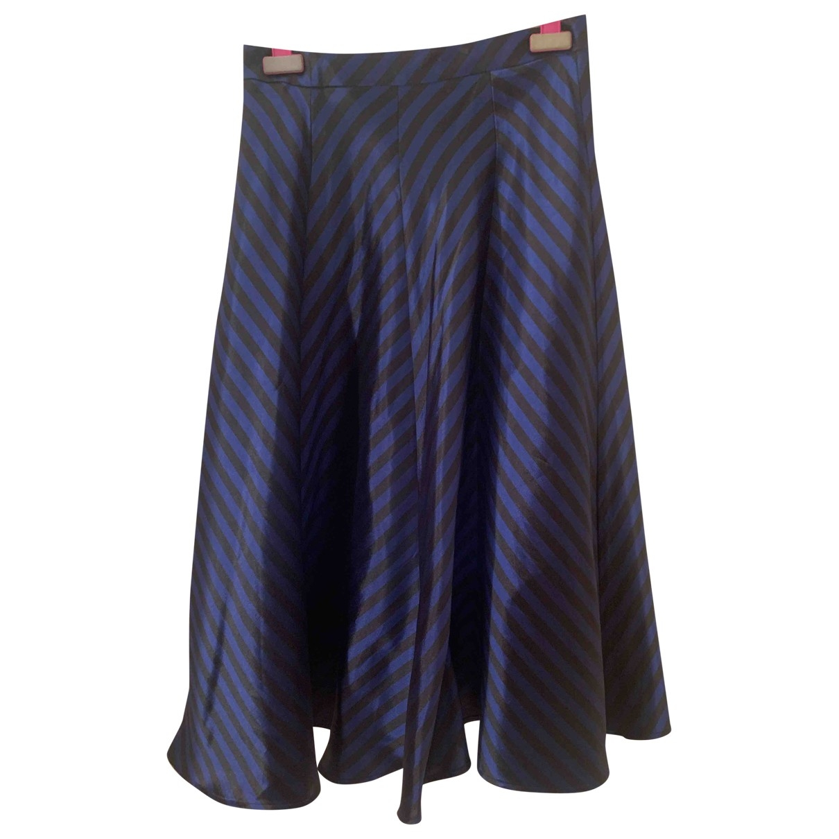 Non Signé / Unsigned \N Blue skirt for Women 42 IT