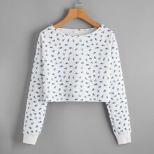 Ditsy Floral Sweatshirt