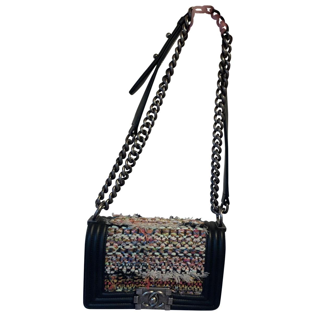 Chanel Boy Handtasche in  Bunt Tweed