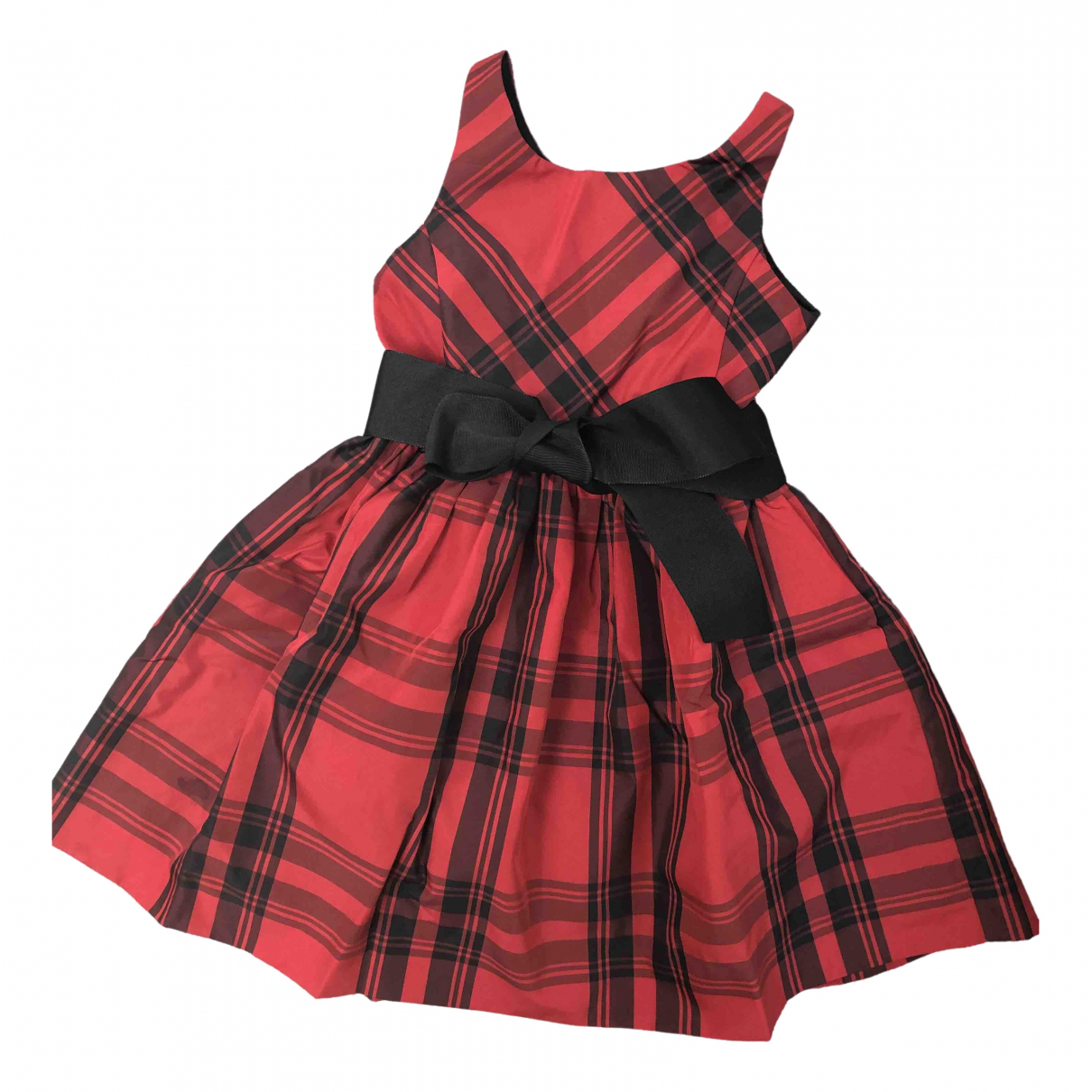 Polo Ralph Lauren - Robe    pour enfant - rouge