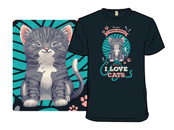 I Love Felines T Shirt