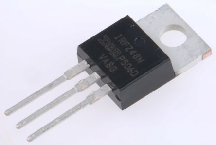 Infineon N-Channel MOSFET, 64 A, 55 V, 3-Pin TO-220AB  IRFZ48NPBF