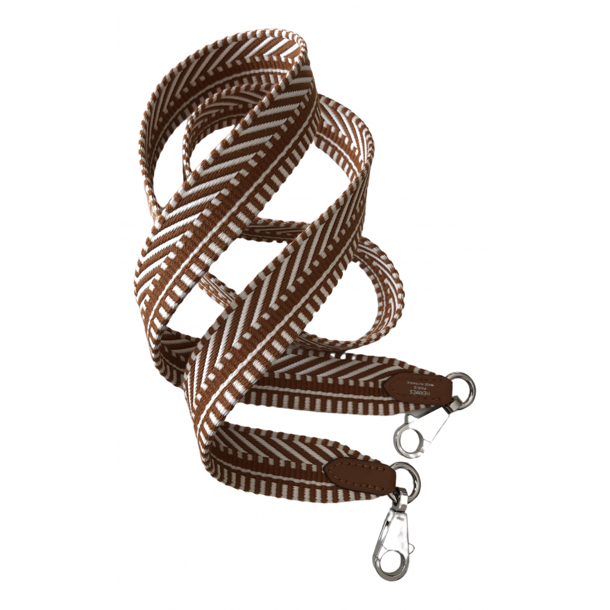 Hermès \N Brown Cloth Purses, wallet & cases for Women \N