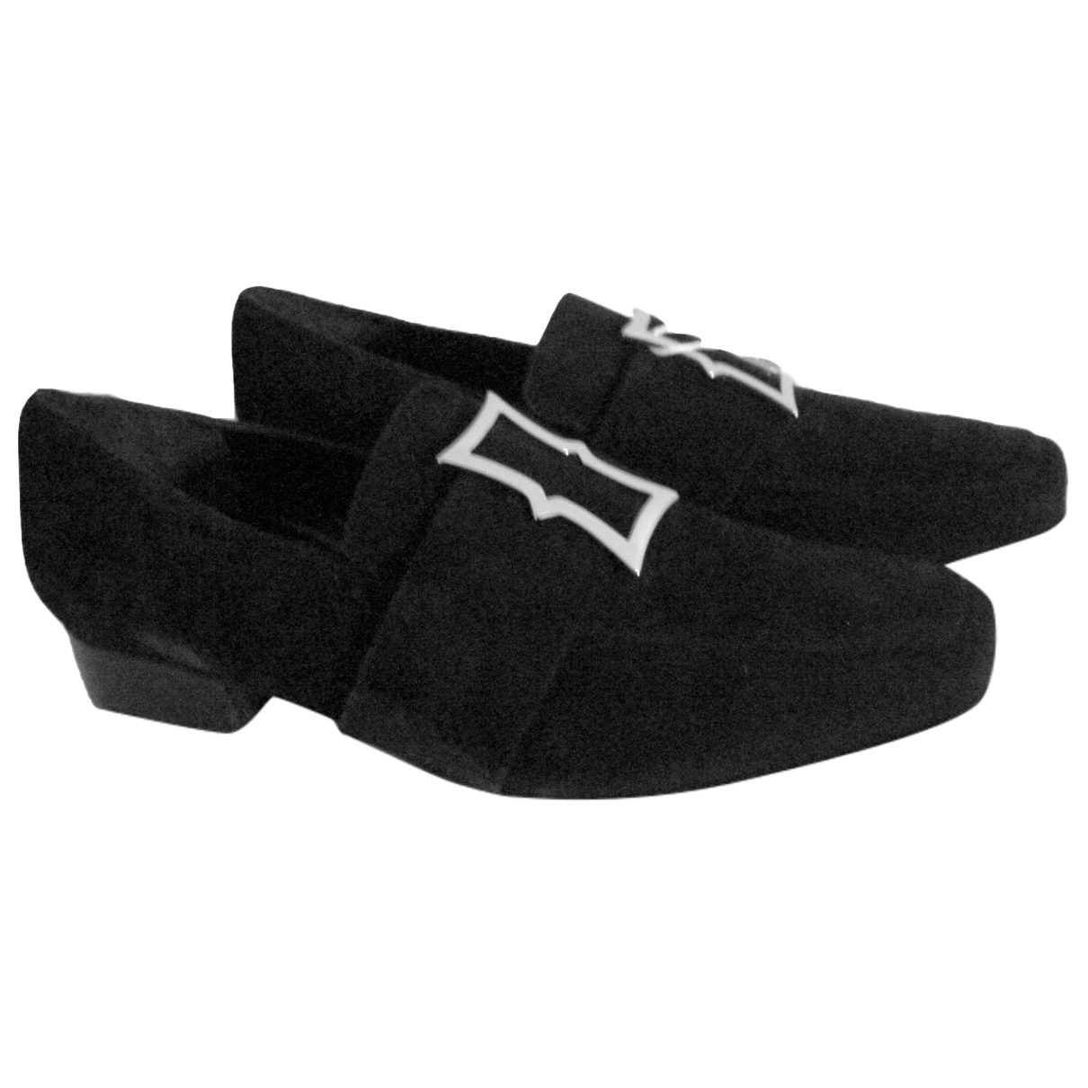 Dorateymur \N Black Suede Flats for Women 41 EU