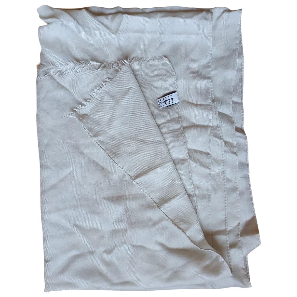 Salvatore Ferragamo N Beige Silk scarf for Women 170 cm