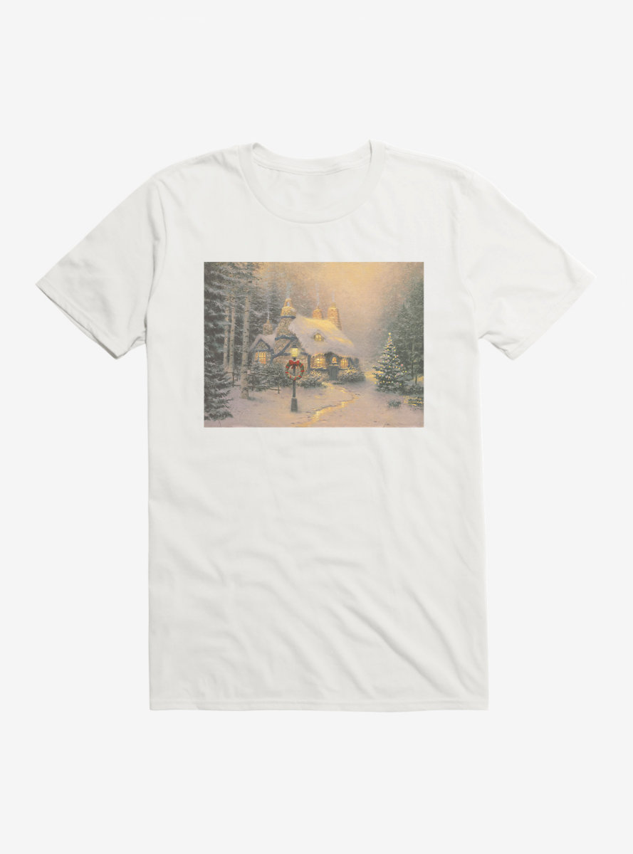 Thomas Kinkade Stonehearth T-Shirt
