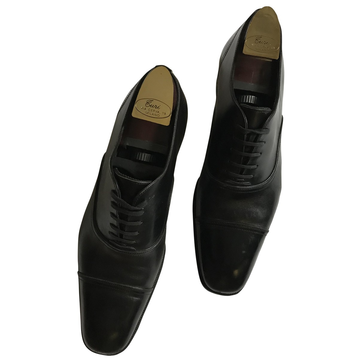 Tom Ford \N Black Leather Lace ups for Men 8 US