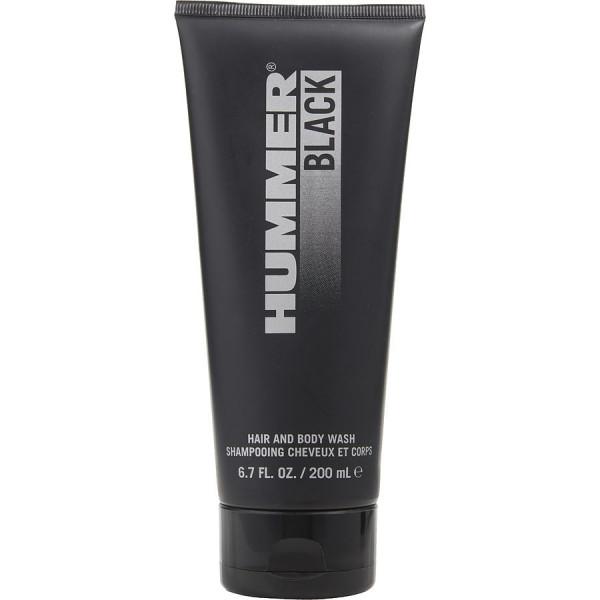 Hummer Black - Hummer Duschgel fuer Korper und Haare/Gel Douche Corps et Cheveux 200 ml