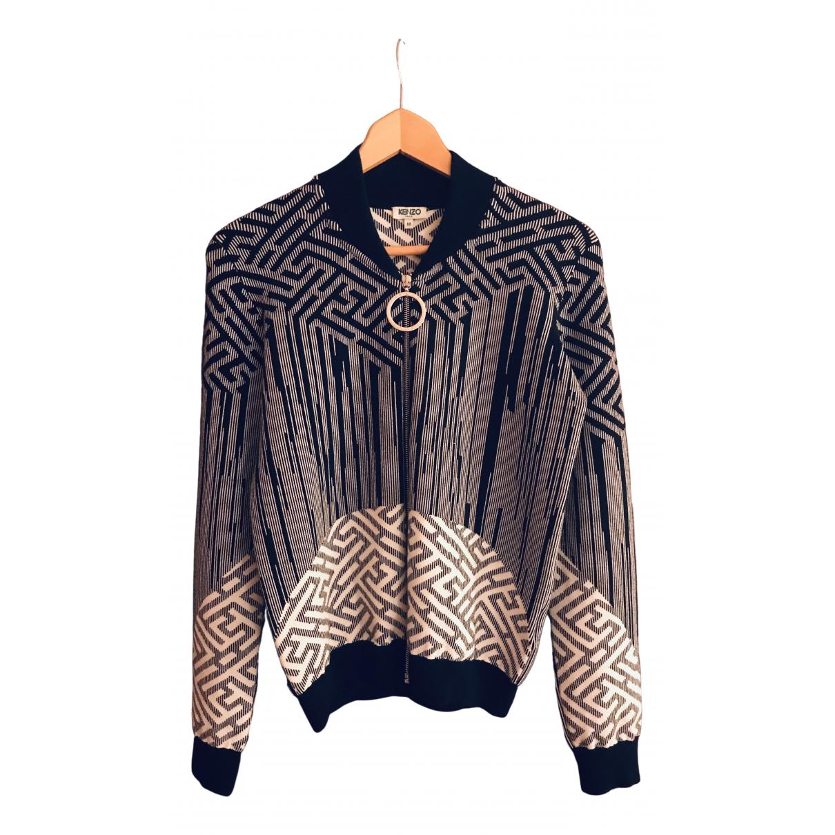 Kenzo \N Black Leather jacket for Women M International