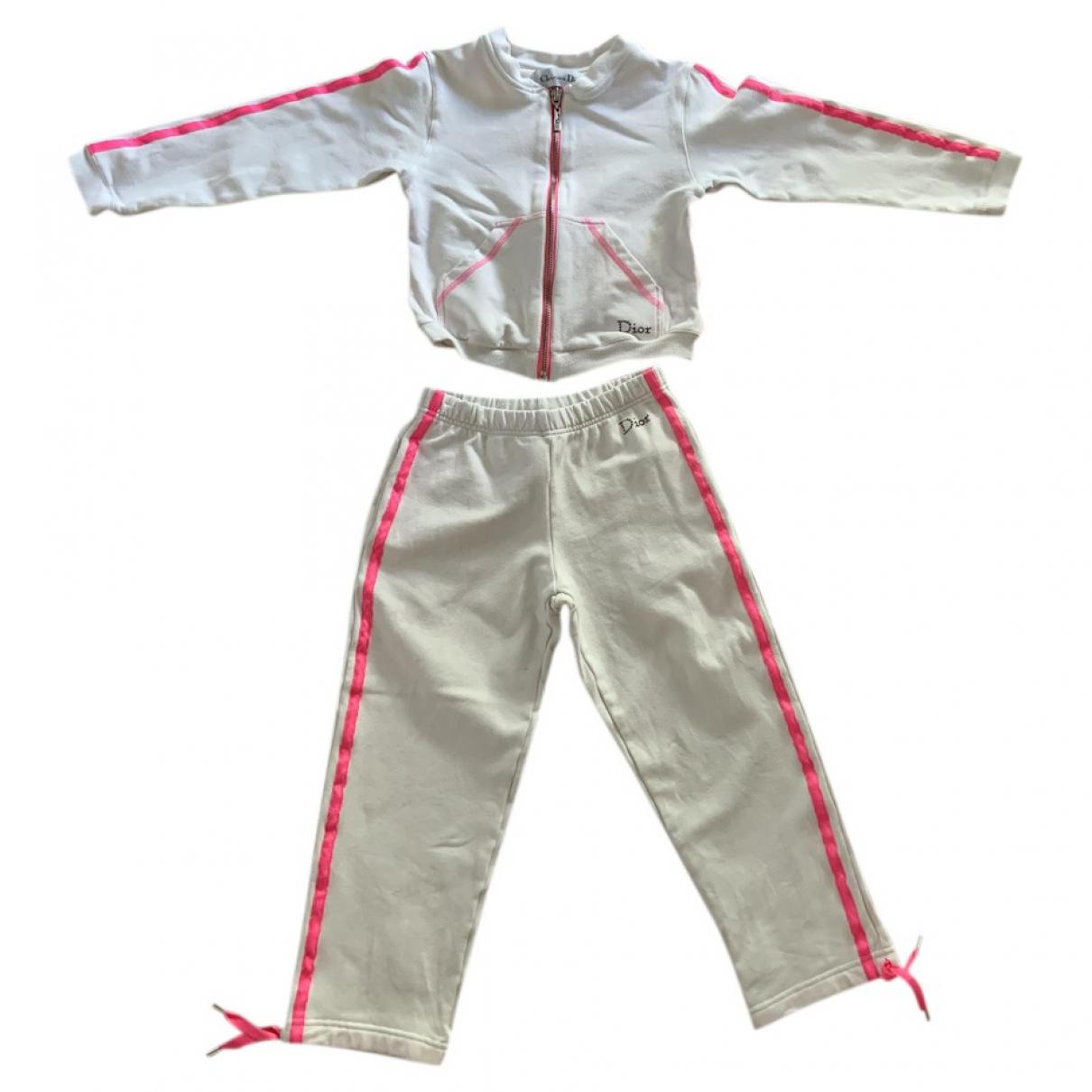 Dior - Les ensembles   pour enfant en coton - blanc