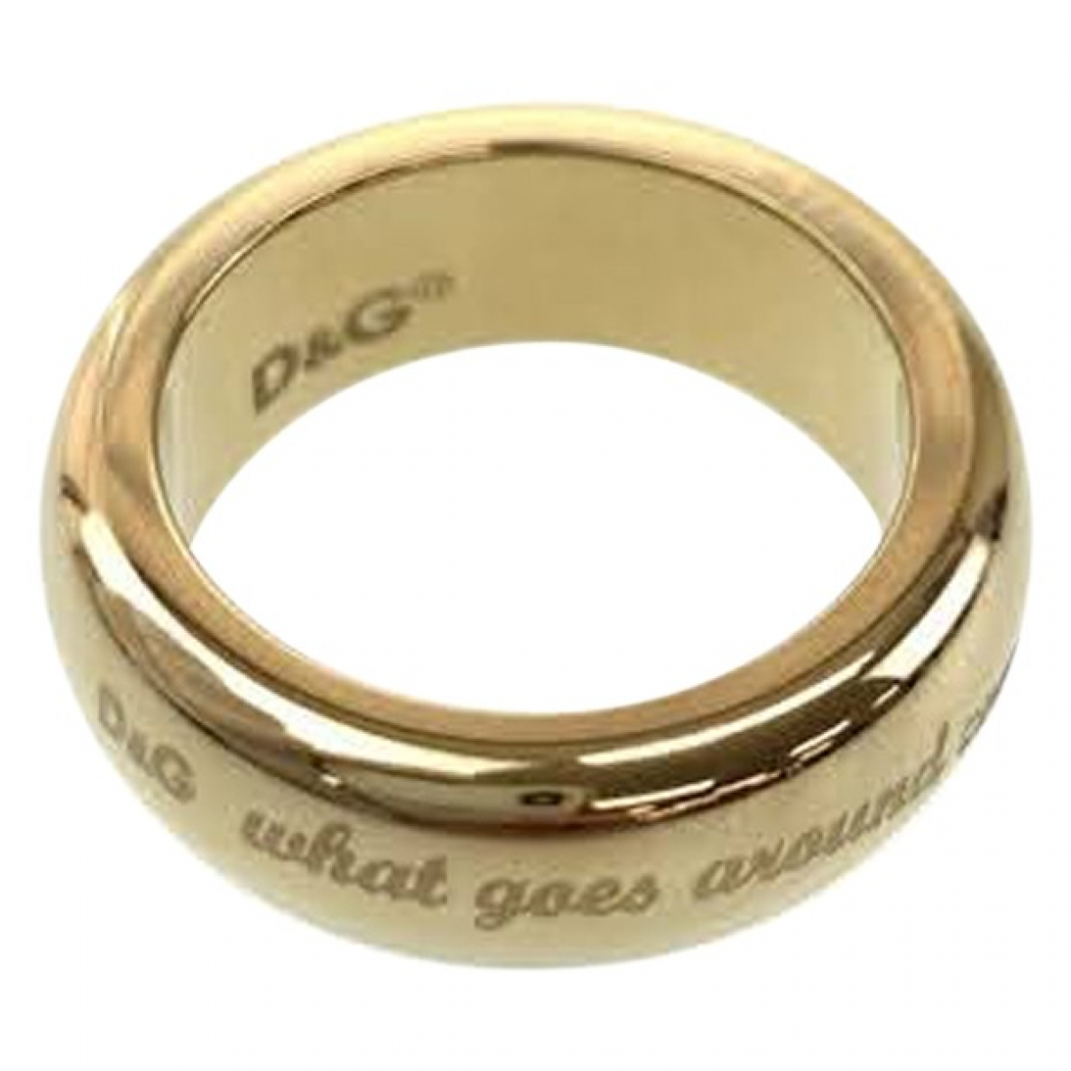 Dolce & Gabbana \N Ring in  Gold Metall