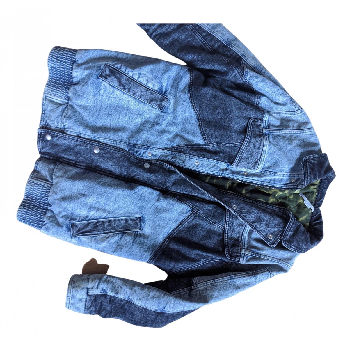 Stella Mccartney - Veste   pour femme en denim - bleu