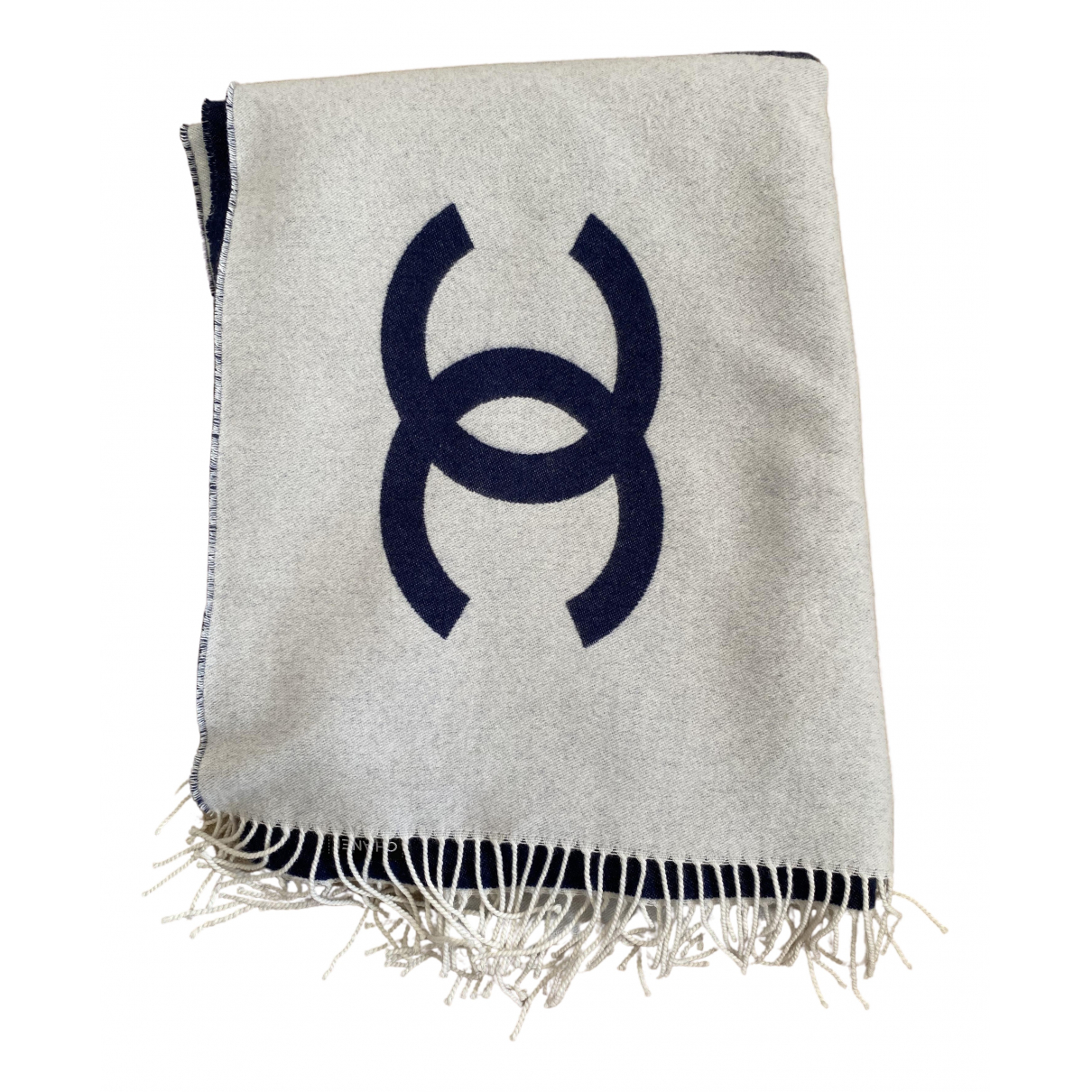 Chanel - Linge de maison   pour lifestyle en laine - gris