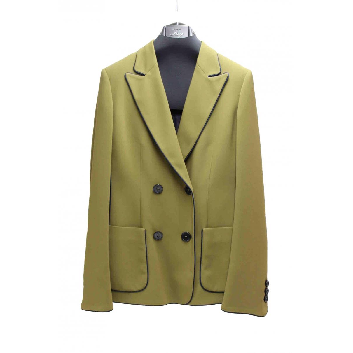 Fay \N Green jacket for Women 40 IT