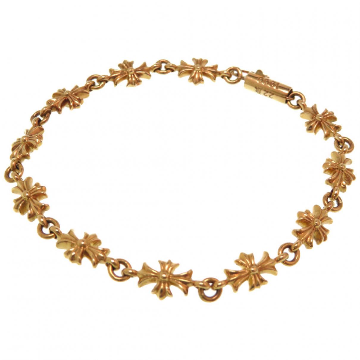 Chrome Hearts - Bijoux   pour homme en or jaune - dore