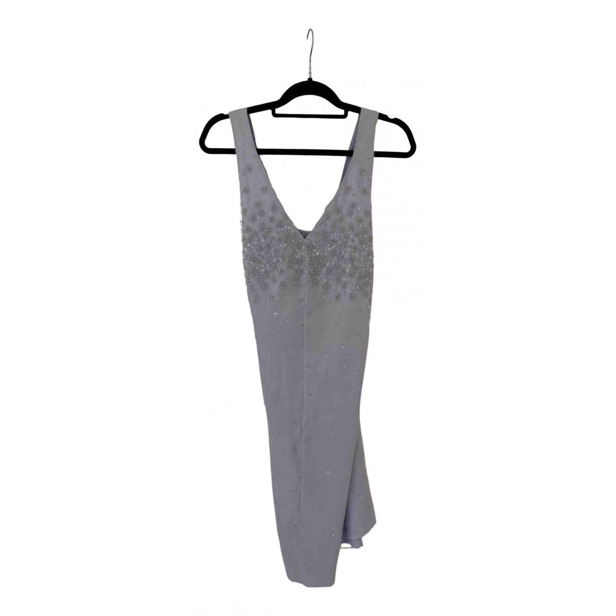 Philosophy Di Alberta Ferretti N Blue Silk dress for Women 12 UK