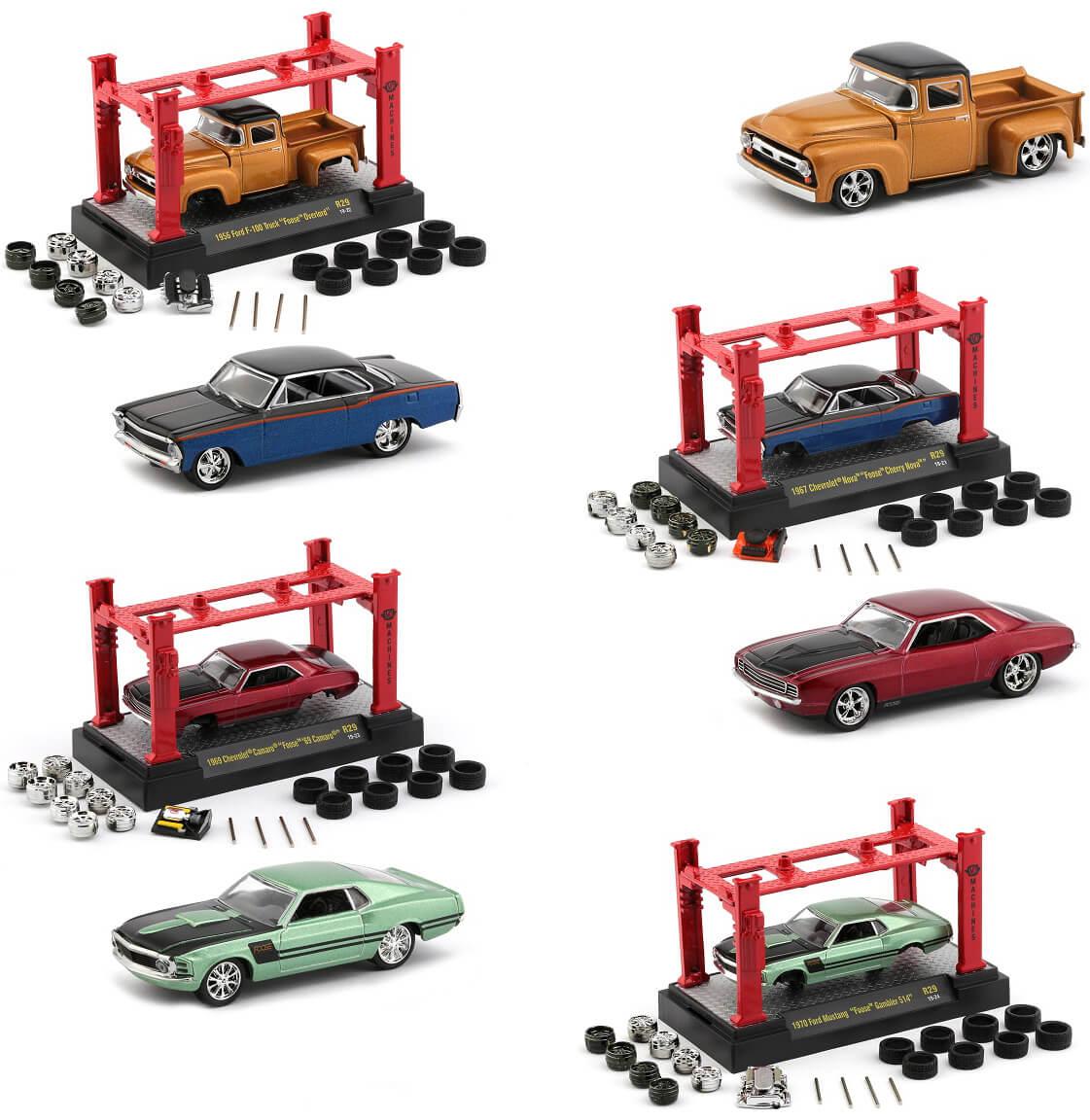 Model Kit 4 piece Car Set Release 29