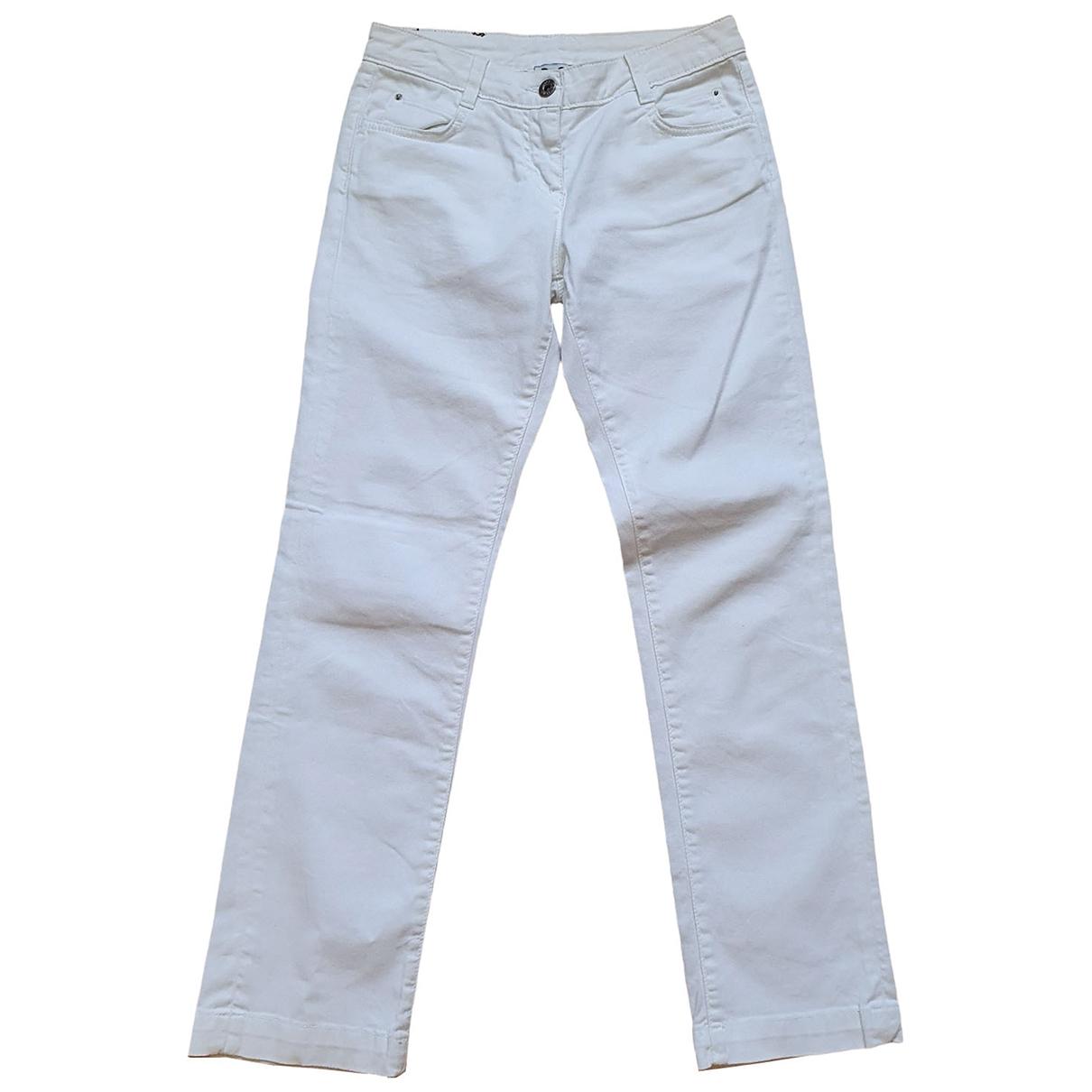 D&g - Pantalon   pour enfant en denim - blanc